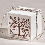 Με το δένδρο της ζωής κουτί κύβος