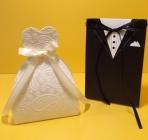 Η νύφη και γαμπρός σε άλλο κουτί