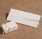 Σπιρτόκουτο λευκό κουτί με δαντέλα