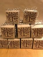 Κουτί κύβος με το δένδρο ζωής
