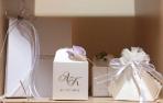 Διάφορα κουτιά σε μπομπονιέρα γάμου