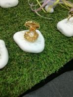 Πέτρα με μεταλλική αχιβάδα με πέρλα