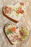 Με λουλούδια μπιζουτιέρα πορσελάνης