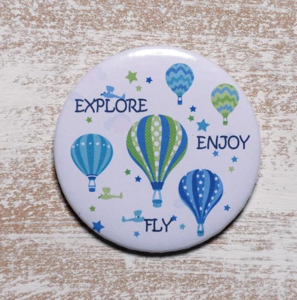 Kονκάρδα αερόστατο εξερεύνηση μπομπονιέρα βάπτισης