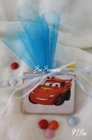 Καδράκι αυτοκίνητα-cars μαγνητάκι