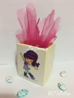 Κορίτσι μπαλαρίνα πορσελάνης μολυβοθήκη