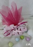 Μίνιμαλ κεραμική κοριτσάκι ροζ