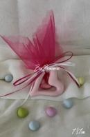 Μίνιμαλ κεραμική καρδιά-τρύπα ροζ