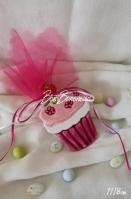 Κεραμικά cup-cakes με σμάλτο