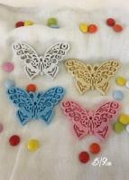 Κεραμικό στοιχείο πεταλούδες με τρύπες στα φτερά