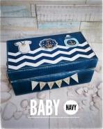 Baby navy κουτί ευχών