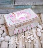 Η Πριγκίπισσα Κύκνων σε κουτί ευχών ή αναμνήσεων