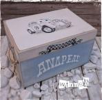 Σκαραβαίος σε κουτί βάπτισης
