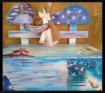 Με τον Μικρό Πρίγκιπα παγκάκι για ρούχα βάπτισης