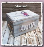 Gorjuss κουτί ρούχων βάπτισης