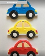 Αυτοκινητάκια κεραμικά με σμάλτο