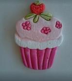 Cup-cakes κεραμική μαγνητάκι