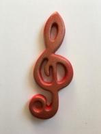 Κλειδί του Σολ σε vintage στυλ !