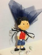 Μικρός Νικόλας σε κεραμικό μαγνητάκι
