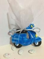 Βέσπα μπλε κεραμική με μαγνητάκι