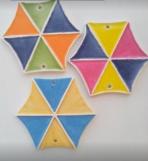 Χαρταετοί κεραμικοί με μαγνητάκι
