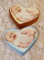 Αγοράκια μωράκια φωτογραφίες σε μπιζουτιέρα