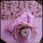 Μονόγραμμα μωρού με μάτι μεταλλικό