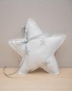 Το αστέρι σε vintage μαξιλαράκι