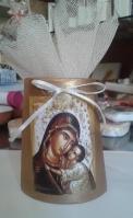 Η Παναγία η Γλυκοφιλούσα εικόνα σε κεραμίδι