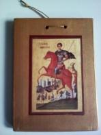 Με τον Άγιο Δημήτριο σε καδράκι