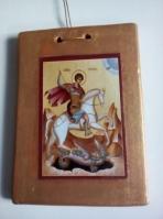 Άγιος Γεώργιος σε καδράκι