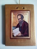 Εικόνα σε καδράκι με Άγιο Ιωάννη τον Θεολόγο