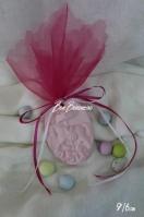 Μίνιμαλ κεραμική καδράκι καρουσέλ ροζ