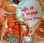 Ρακέτα αερόστατο ξύλινο καδράκι