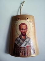 Κεραμίδι με εικόνα Αγίου Ιωάννη Χρυσόστομου