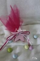 Μίνιμαλ κεραμική αστεράκι ροζ