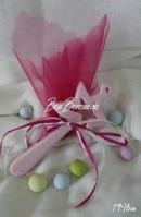Χειροποίητη μίνιμαλ κεραμική ροζ μαγικό ραβδί