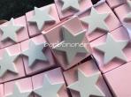 Αστεράκι ροζ πορσελάνης μολυβοθήκη