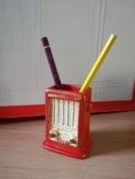 Ραδιόφωνο ρετρό κεραμική μολυβοθήκη