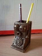 Τηλέφωνο ρετρό κεραμική μολυβοθήκη
