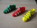 Παπούτσια ποδοσφαίρου σε κεραμικό