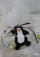 Κεραμικός πιγκουίνος με σμάλτο