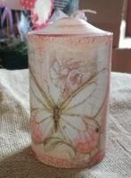 Κερί πατίνα-ντεκουπάζ με πεταλούδα