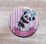 Κονκάρδα Panda ροζ