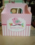 Σπιτάκι-πουλάκια κουτί φαγητού