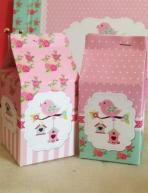 Milk-box κουτί με φωλιά-πουλάκια