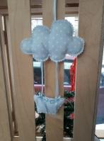 Αερόστατο με συννεφάκι πάνινο κρεμαστό