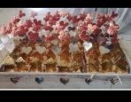 Σταντ σπιτάκι μεταλλικό με καρδιά-μαργαρίτα