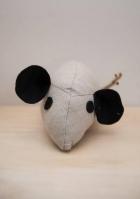 Ποντικάκι πάνινη μπομπονιέρα