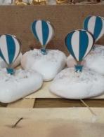 Πέτρα με αερόστατο μεταλλικό-σμάλτο